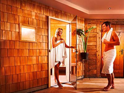 Sauna im Hotel Erlebniswelt Stocker in Schladming-Rohrmoos