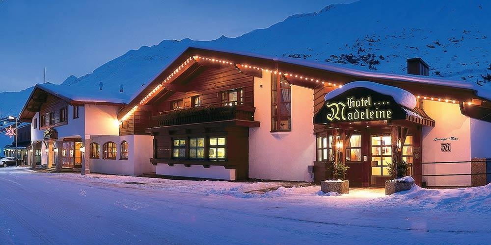 Das Hotel Madeleine in Obergurgl