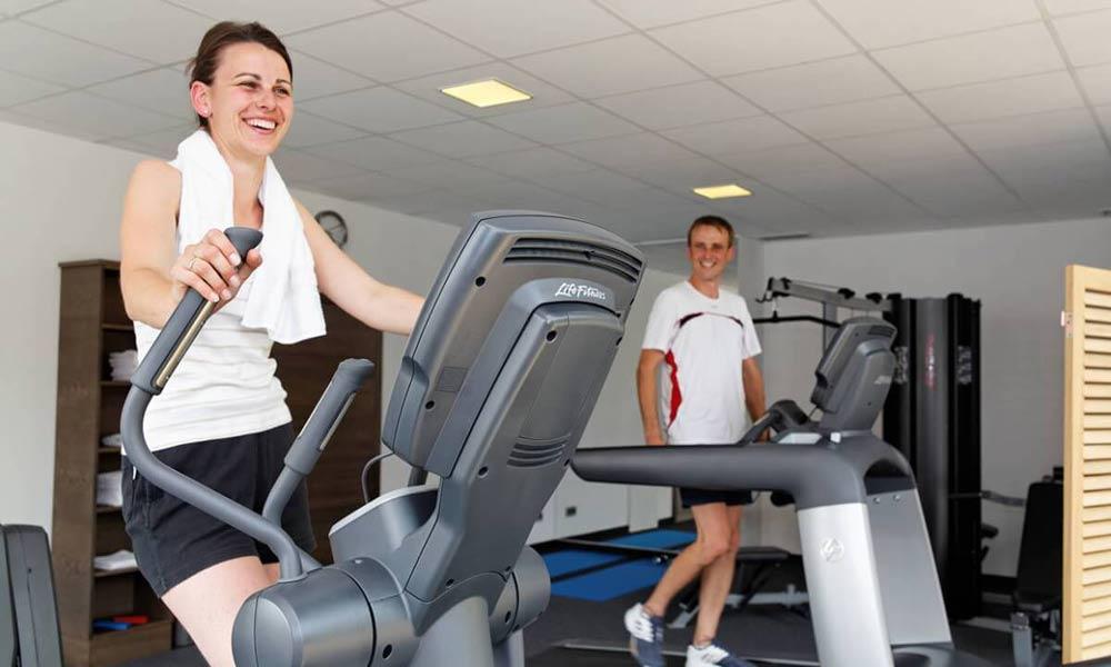 Fitnessraum im Wellnesshotel Reibener Hof in Konzell