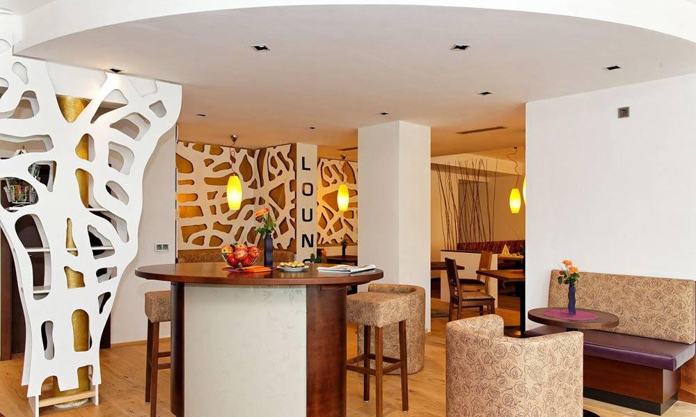 Lounge im Wellnesshotel Reibener Hof in Konzell