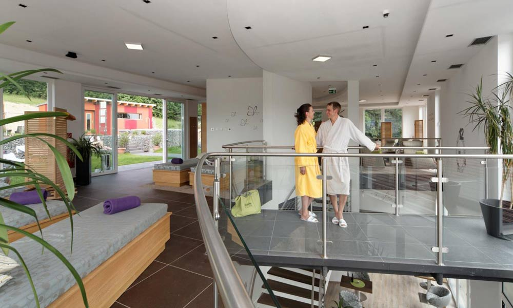 Spabereich im Wellnesshotel Reibener Hof in Konzell