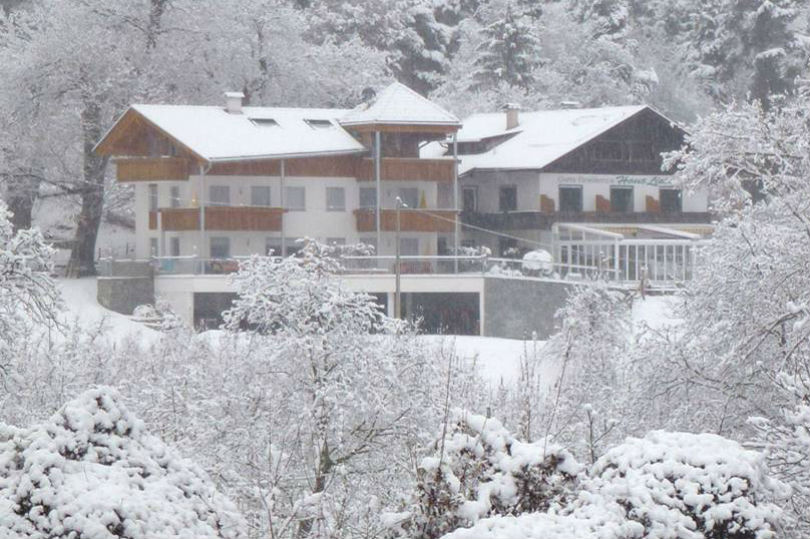 Lage und Ansicht von der Residence Liesy im Winter
