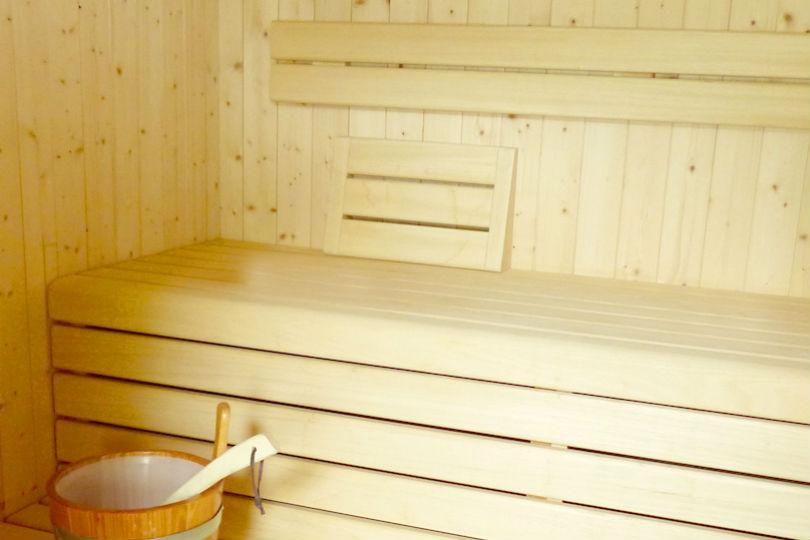 Die Sauna in der Residence Liesy