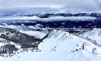 Panoramablick vom Skigebiet Kicking Horse © Kicking Horse Mountain Resort