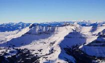 Panoramaausblick vom Big Sky Resort © Big Sky Resort