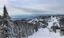 Ausblick vom Skigebiet Cypress Mountain © Cypress Mountain