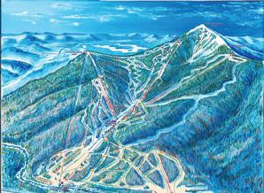 Pistenplan Whiteface Mountain
