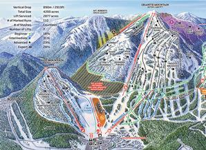 Pistenplan Red Mountain Resort