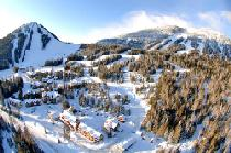 Luftaufnahme des Red Mountain Resorts © RED Mountain Resort