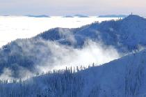Blick auf die Berge des Red Mountain Resorts © RED Mountain Resort