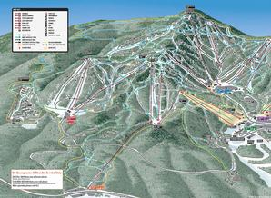 Pistenplan Killington