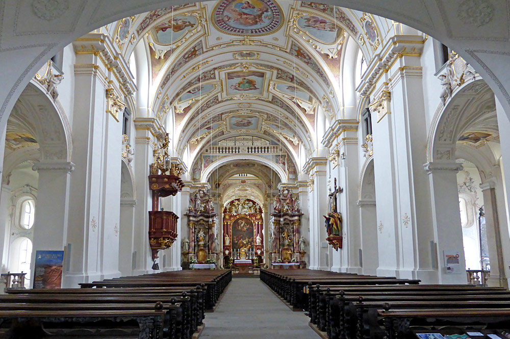 st lorenz basilika in deutschland bayern alpen. Black Bedroom Furniture Sets. Home Design Ideas