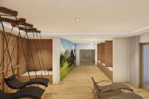 Der Ruheraum im Tuberis Nature & Spa Resort