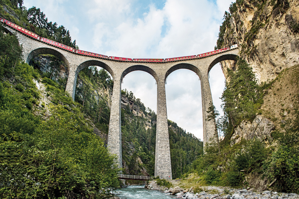 Bernina Express in Graubünden