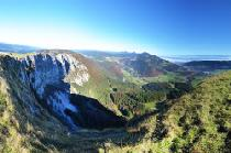 Blick vom Mont d'Or bei Vallorbe © Claude Jaccard - www.vaud-photos.ch