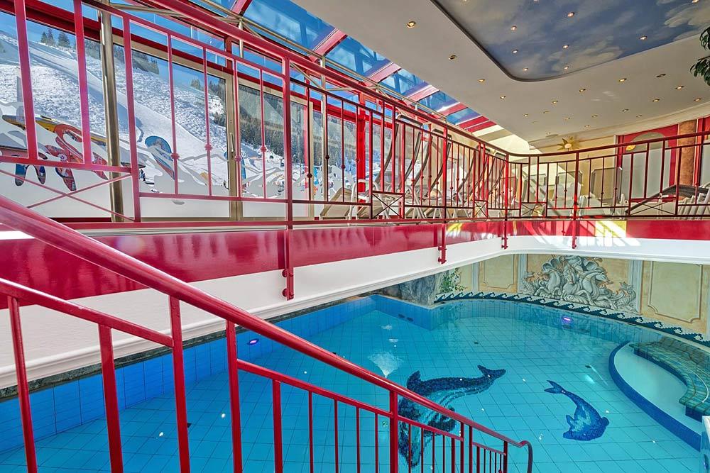 Das Hallenbad im Hotel Zauchenseehof in Altenmarkt