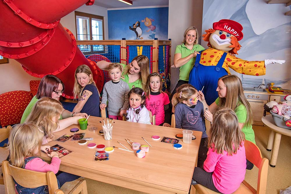 Kinderbetreuung im Hotel Zauchenseehof in Altenmarkt