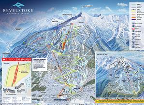 Pistenplan Revelstoke Mountain Resort