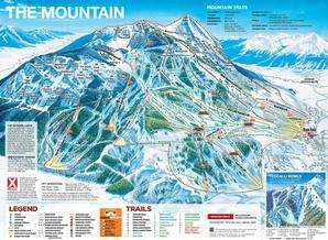 Pistenplan Crested Butte