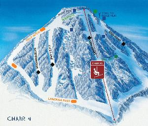 Chair 4 Mount Spokane Ski and Snowboard Park