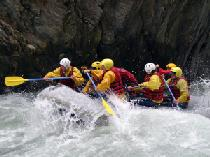 Rafting am Inn © Tiroler Oberland