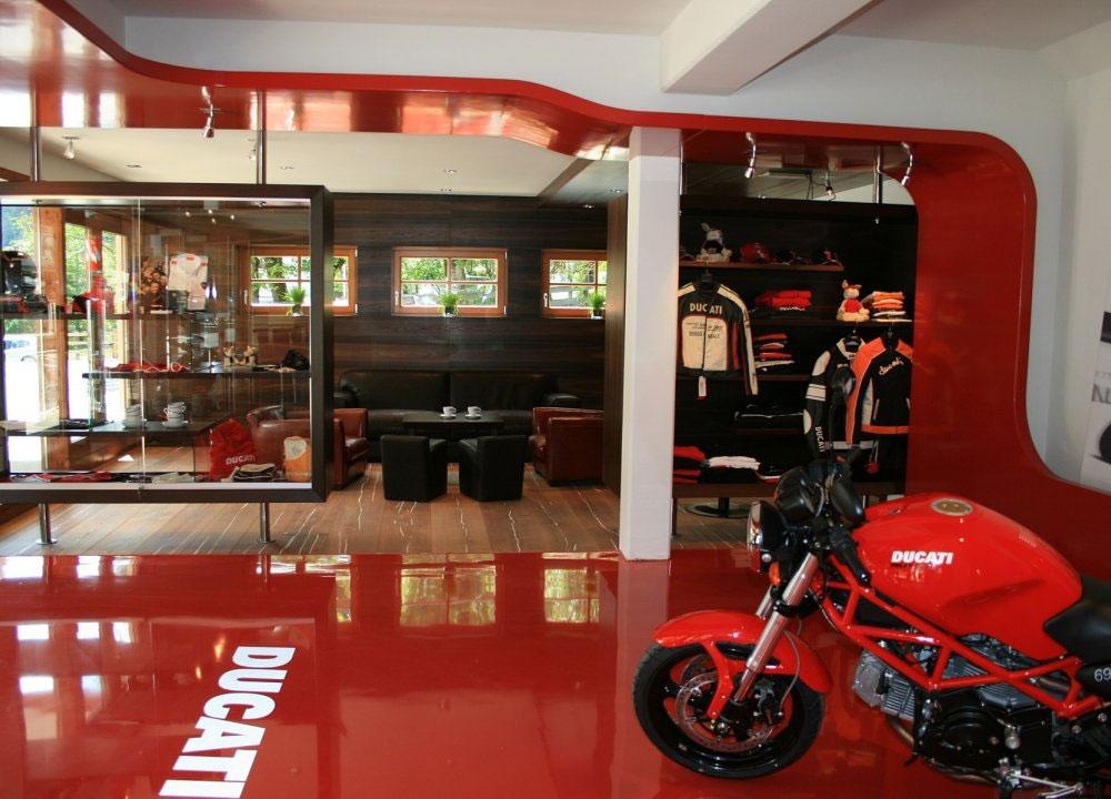 Die Il Ducatisti Café-Bar im MOHR life resort