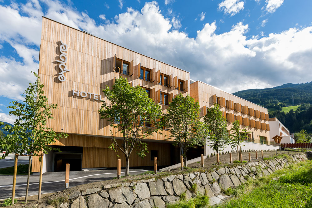 Explorer hotel zillertal in kaltenbach tirol alpen for Design hotel zillertal