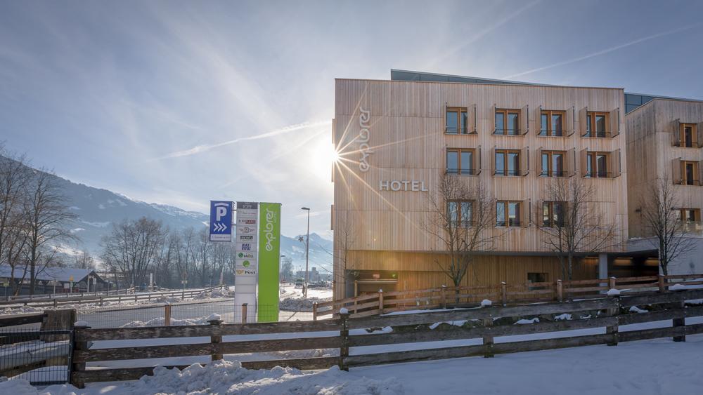 Das Explorer Hotel Zillertal im Winter