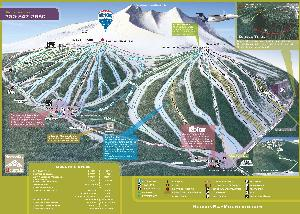 Pistenplan Hudson Bay Mountain (Ski Smithers) © Hudson Bay Mountain Resort