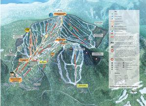 Pistenplan Northstar-at-Tahoe / Lake Tahoe