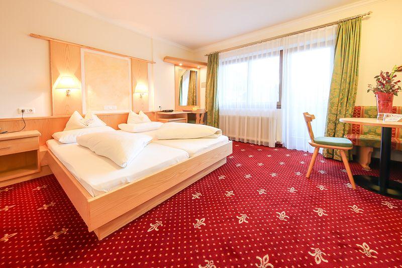Eine Juniorsuite Steinbock im Hotel Persal