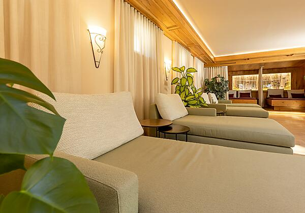 Hotel Bergcristall - Sauna-Empfang