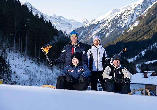 Hotel Bergcristall - Ruheraum-Garten