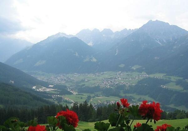 Alpengasthaus Gleinserhof Aussicht Balkon