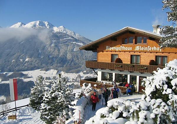 Alpengasthaus Gleinserhof Winterbild