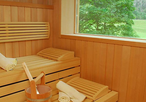 Die Sauna im Alpenhotel Badmeister in Flattach