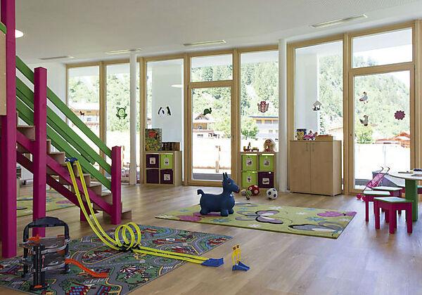 Ein Deluxe-Zimmer Elfer im Alpenhotel Kindl