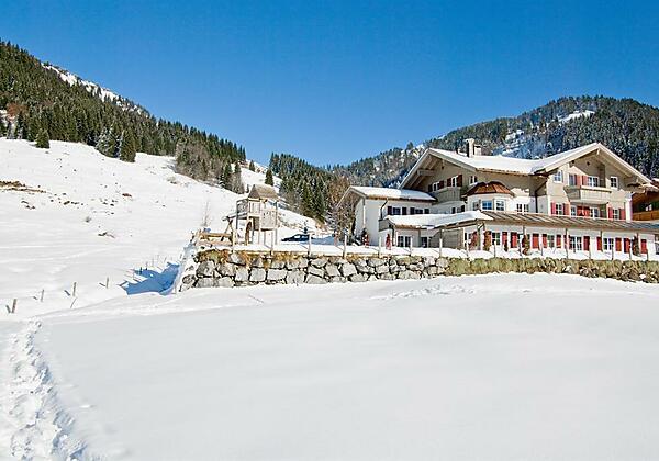 Alpenrösle Ferienwohnung im Winter