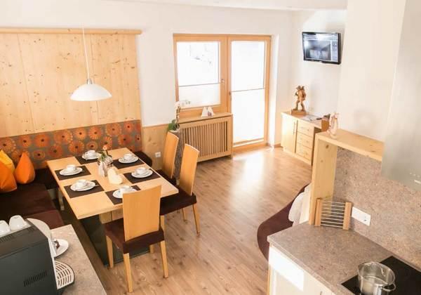 Wohnküche Apart Carmen