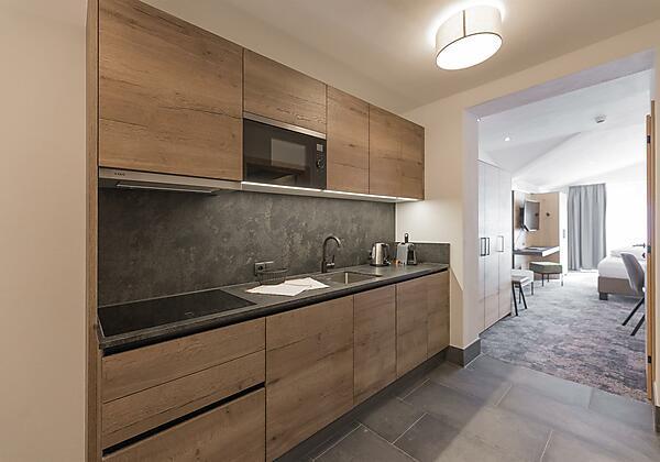 Panorama Appartement Küche