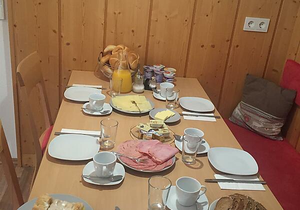 Frühstücks-Platz