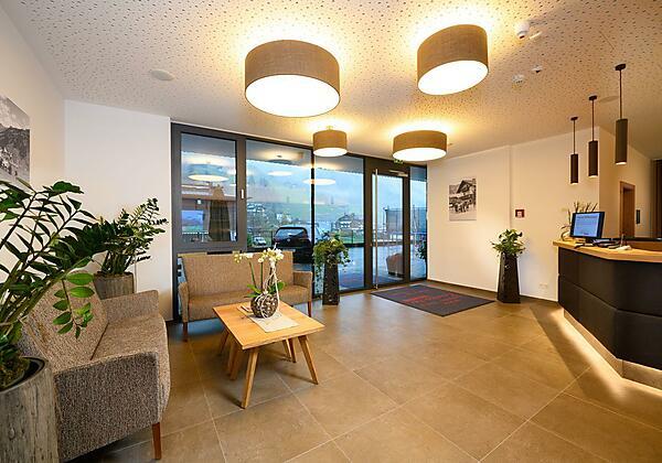 Rezeption Appartement-Pension Kendlbacher