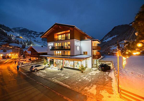 Appartement-Pension Kendlbacher im Winter