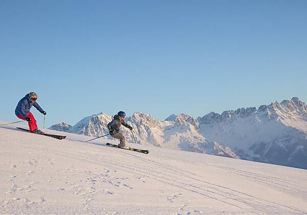 Skifahren Wilder Kaiser