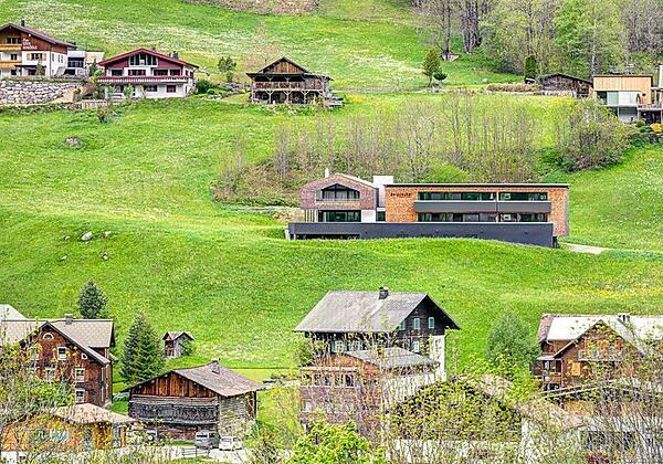 Aussenansicht Haus Bergzauber Sommer 3