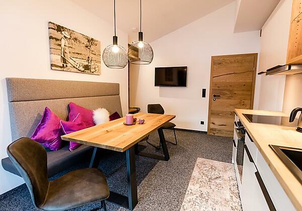 Appartement Bergblüh Wohnraum