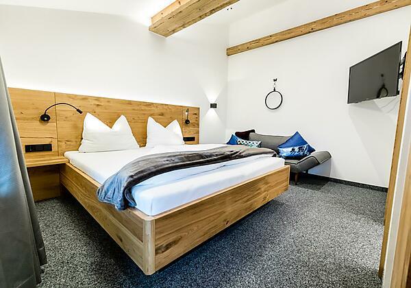 App Gipfelsruh Schlafzimmer