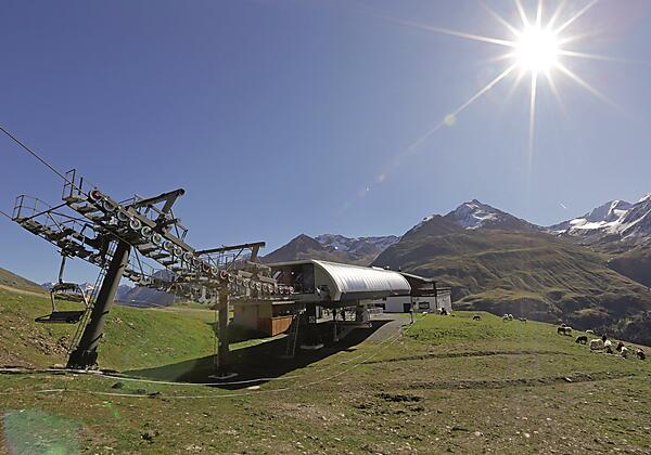 Berg- und Skidorf Vent 1900m