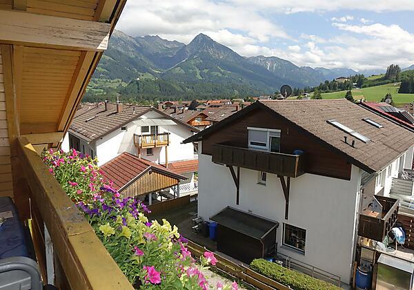 Blick vom Balkon Fewo 5