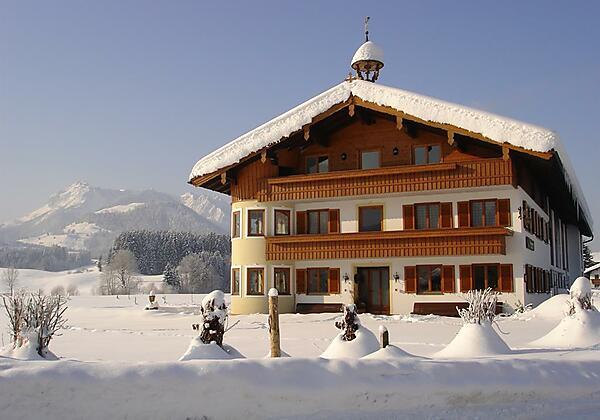 Bachangerhof im Winter